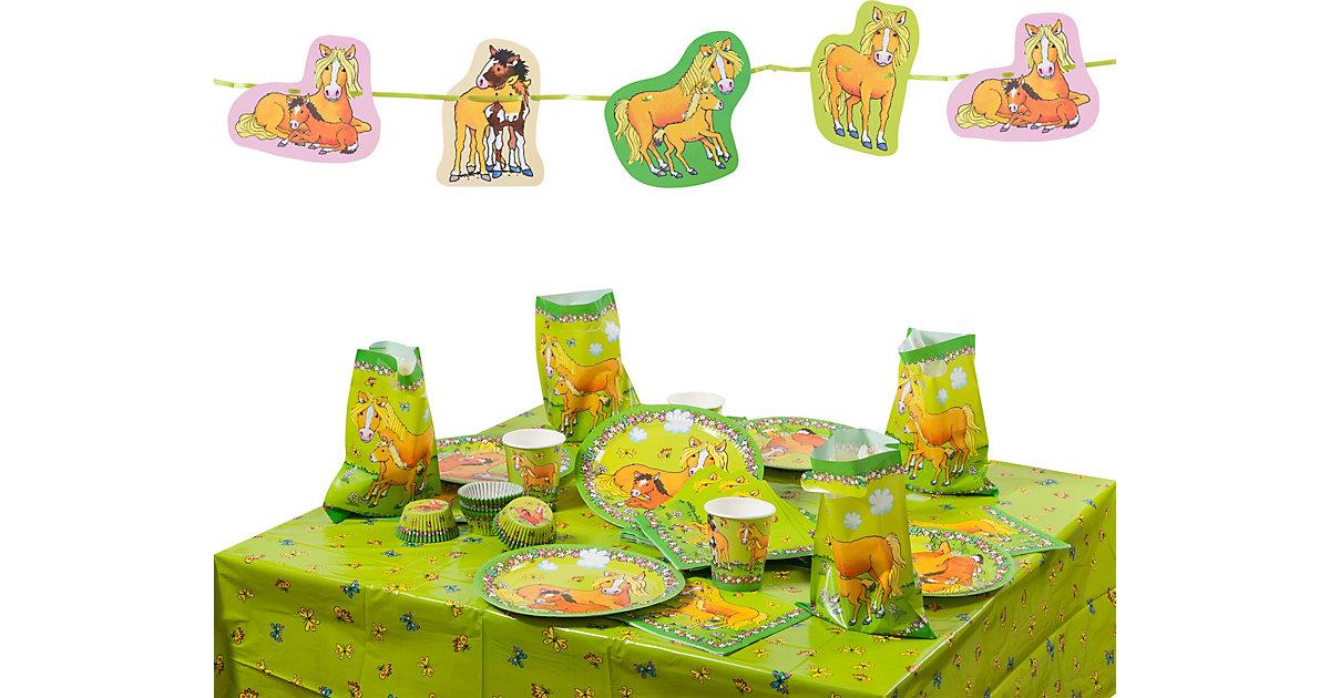 Partyset Mein Ponyhof, 86-tlg.