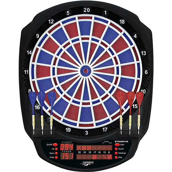 Elektronik Dartboard Striker-401, 2-Loch Abstand