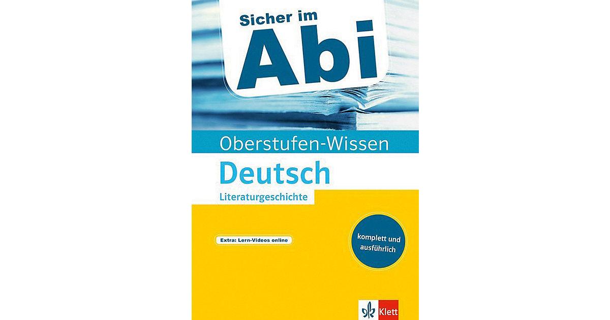 Oberstufen-Wissen Deutsch: Literaturgeschichte