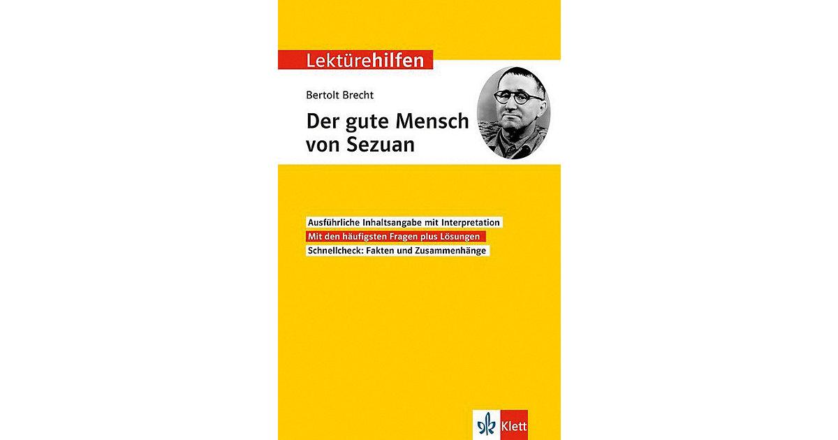 Lektürehilfen Bertolt Brecht ´´Der Gute Mensch ...