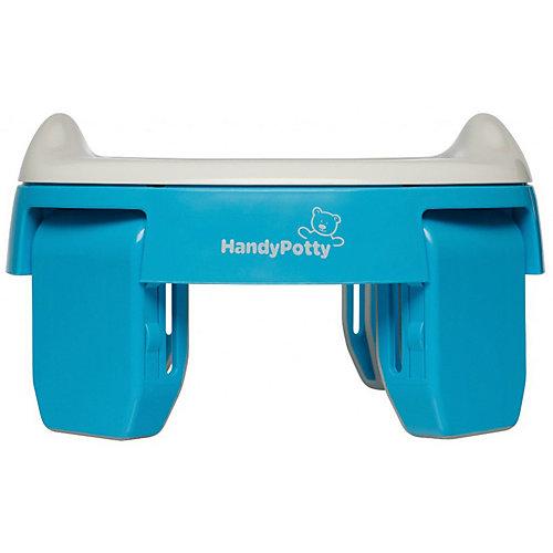 Дорожный горшок Roxy-kids HandyPotty, голубой от Roxy-Kids