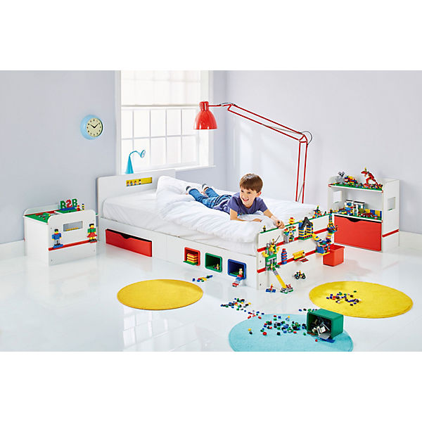 Kinderbett Room2build Inkl Lattenrost Mit Bauleisten 90 X 200 Cm Worlds Apart