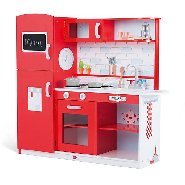 Plum® rote Spielküche aus Holz, plum