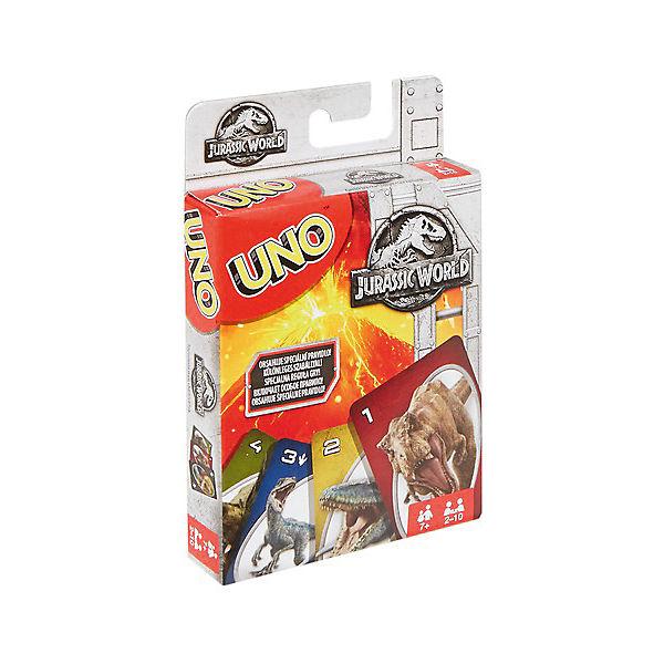 """Настольная игра Mattel Games Uno """"Уно Парк Юрского периода"""""""