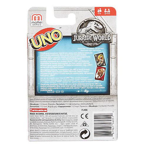 """Настольная игра Mattel Games Uno """"Уно Парк Юрского периода"""" от Mattel"""