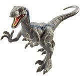 "Фигурка динозавра Jurassic World ""Атакующая стая"", Велоцираптор синий"