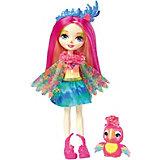 """Мини-кукла Enchantimals """"Любимая зверюшка"""" Пикки Попугай и Шини"""