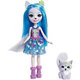 """Мини-кукла Enchantimals """"Любимая зверюшка"""" Волк и волчонок"""