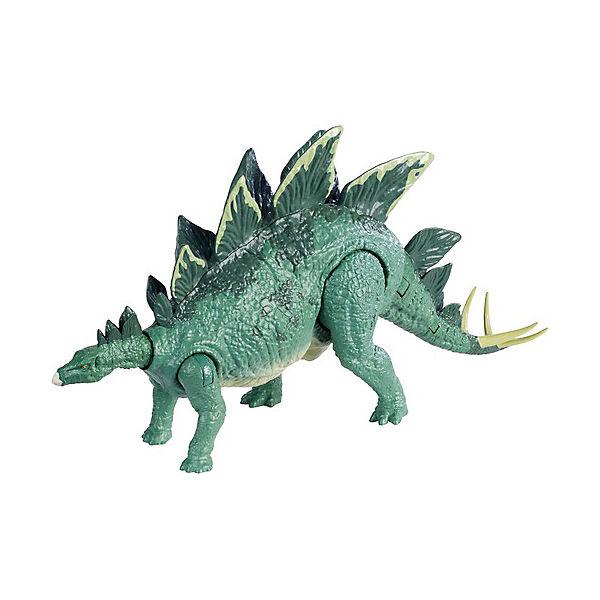 """Фигурка динозавра Jurassic World """"Боевой удар"""", Стегозавр"""