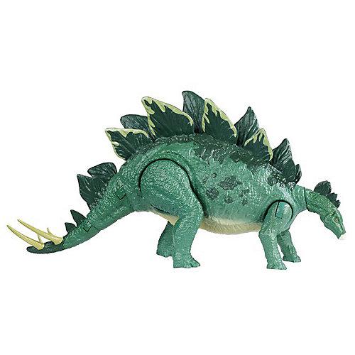 "Фигурка динозавра Jurassic World ""Боевой удар"", Стегозавр от Mattel"