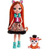 """Кукла Enchantimals """"Любимая зверюшка"""" Тайгер и тигрёнок"""