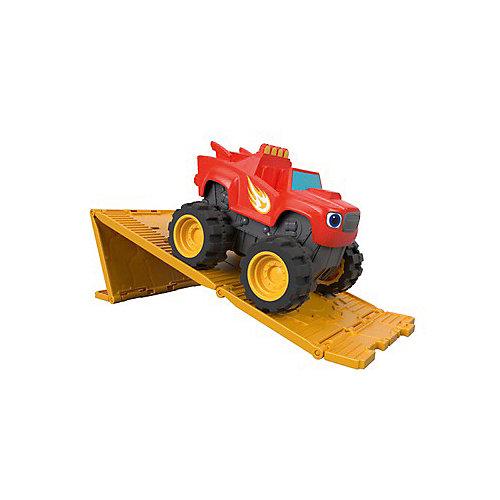 """Моторизированная машинка Вспыш и чудо-машинки """"Чудо-машинки"""", Blaze от Mattel"""