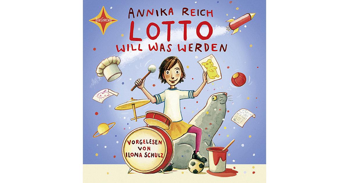 Lotto will was werden, 1 Audio-CD Hörbuch