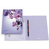 Папка-скоросшиватель ErichKrause «Romantique» А4, фиолетовый