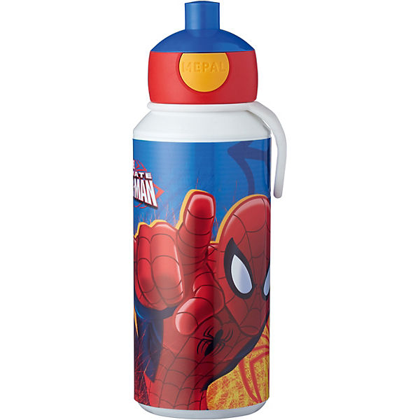 Trinkflasche pop-up campus Ultimate Spiderman, 400 ml