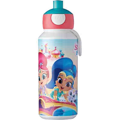 Trinkflasche pop-up campus 400 ml, Shimmer & Shine