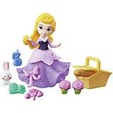 """Игровой набор с мини-куклой Disney Princess """"Маленькое королевство"""" Аврора"""