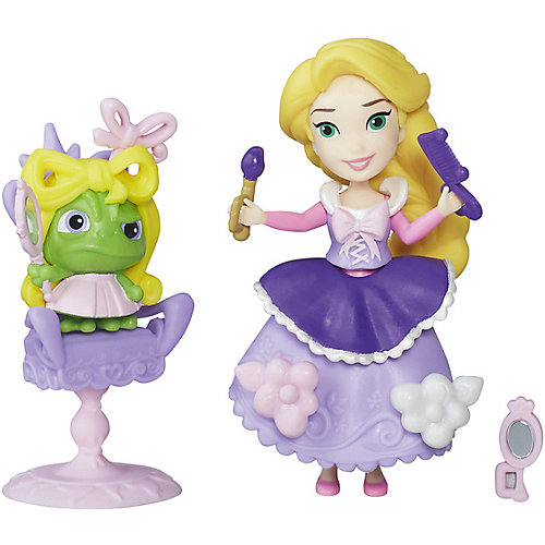 """Игровой набор с мини-куклой Disney Princess """"Маленькое королевство"""" Рапунцель от Hasbro"""