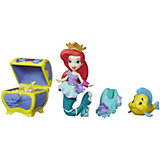 """Игровой набор с мини-куклой Disney Princess """"Маленькое королевство"""" Ариэль"""