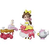 """Игровой набор с мини-куклой Disney Princess """"Маленькое королевство"""" Бель"""