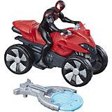 Фигурка с транспортным средством Marvel Spider-man Кид Арахнид на квадроцикле