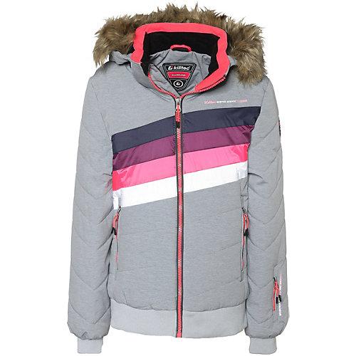 KILLTEC Skijacke mit abnehmbarer Kapuze ELONA Gr. 176 Mädchen Kinder   04056542959227
