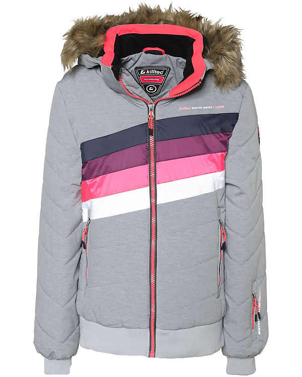 pretty nice 780b8 76c1a Skijacke mit abnehmbarer Kapuze ELONA für Mädchen, killtec
