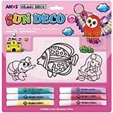 Набор витражных красок Amos, 6 цветов