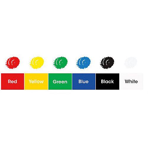 """Мелки-грим Amos """"Декор"""", 6 цветов - белый от Amos"""