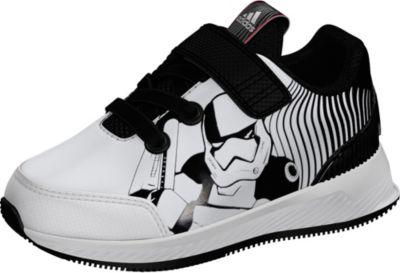 Sportschuhe RapidaRun STAR WARS für Jungen, adidas Performance