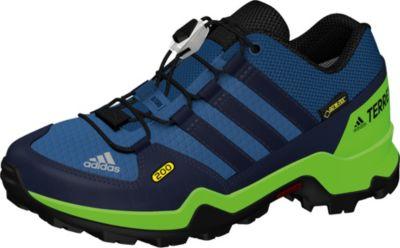 Adidas Terrex AX2R K Wanderschuh in core black blue
