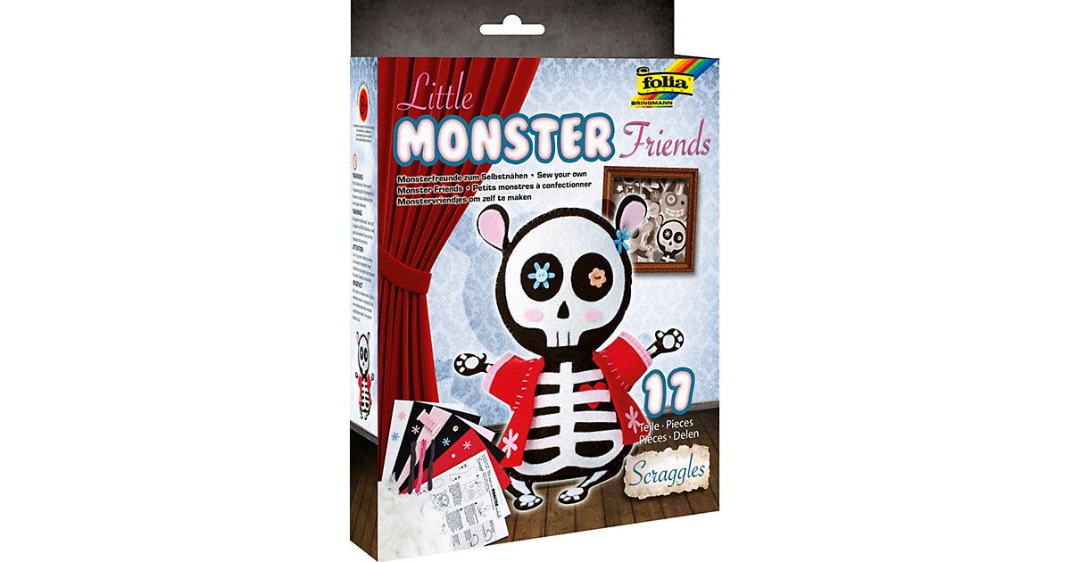 Filz-Bastelset Little Monster Friends Scraggles