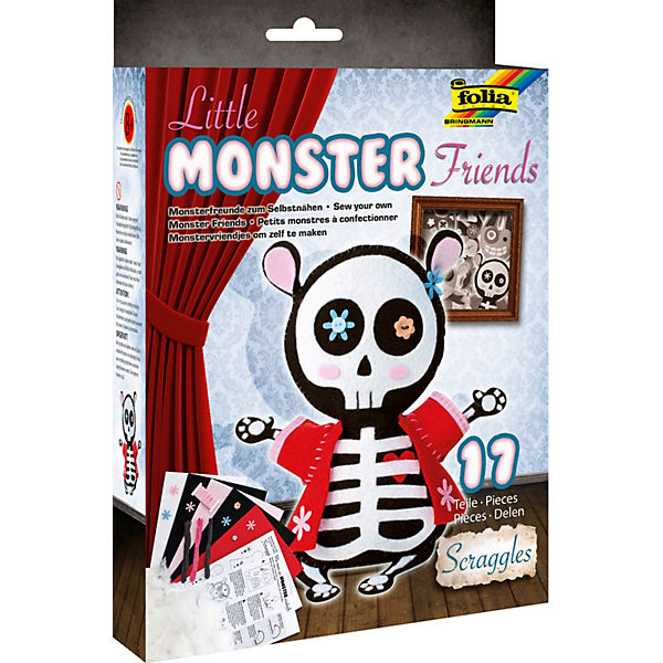 Filz-Bastelset Little Monster Friends Scraggles