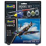 """Сборная модель Revell """"Британский истребитель времён Второй мировой войны Spitfire Mk. Iia"""" с красками"""