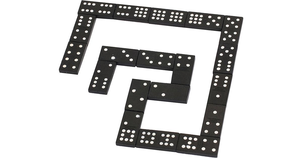 Holz Domino, 55 Steine