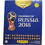 """Альбом с 15 наклейками Panini """"FIFA-2018"""""""