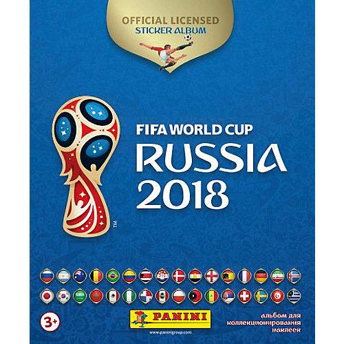 "Альбом с 15 наклейками Panini ""FIFA-2018"" от Panini"