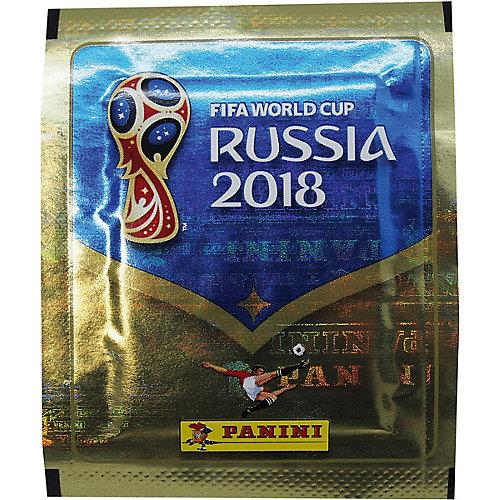 """Наклейки Panini """"FIFA-2018"""", 4 пакета по 5 наклеек от Panini"""