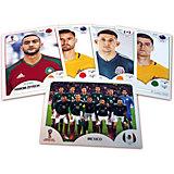"Коллекционные карточки Panini ""FIFA-2018"", 6 карточек"