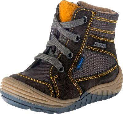 LEPI WINTERSTIEFEL LEDER Stiefel Tex Boots Schuhe in grau