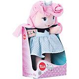 Мягкая кукла Trudi с розовыми волосами, 28 см