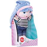 Мягкая кукла Trudi с синими волосами, 28 см
