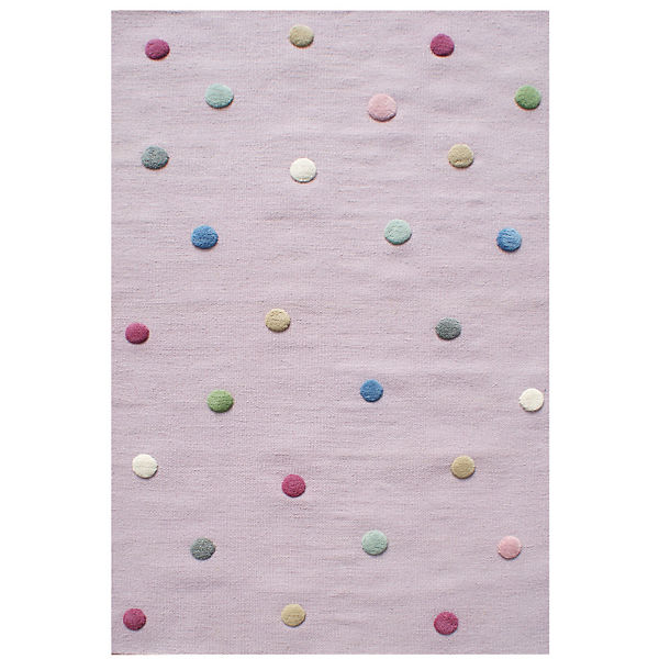 Kinderteppich, COLORDOTS flieder/multi, 120 x 180 cm