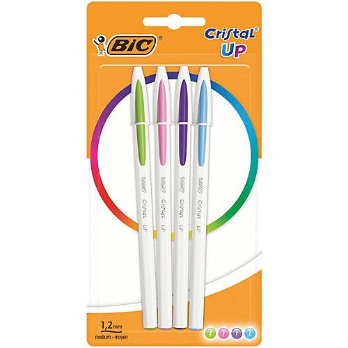 Ручка шариковая BIC «Cristal Up Fun», 4 цвета от BIC