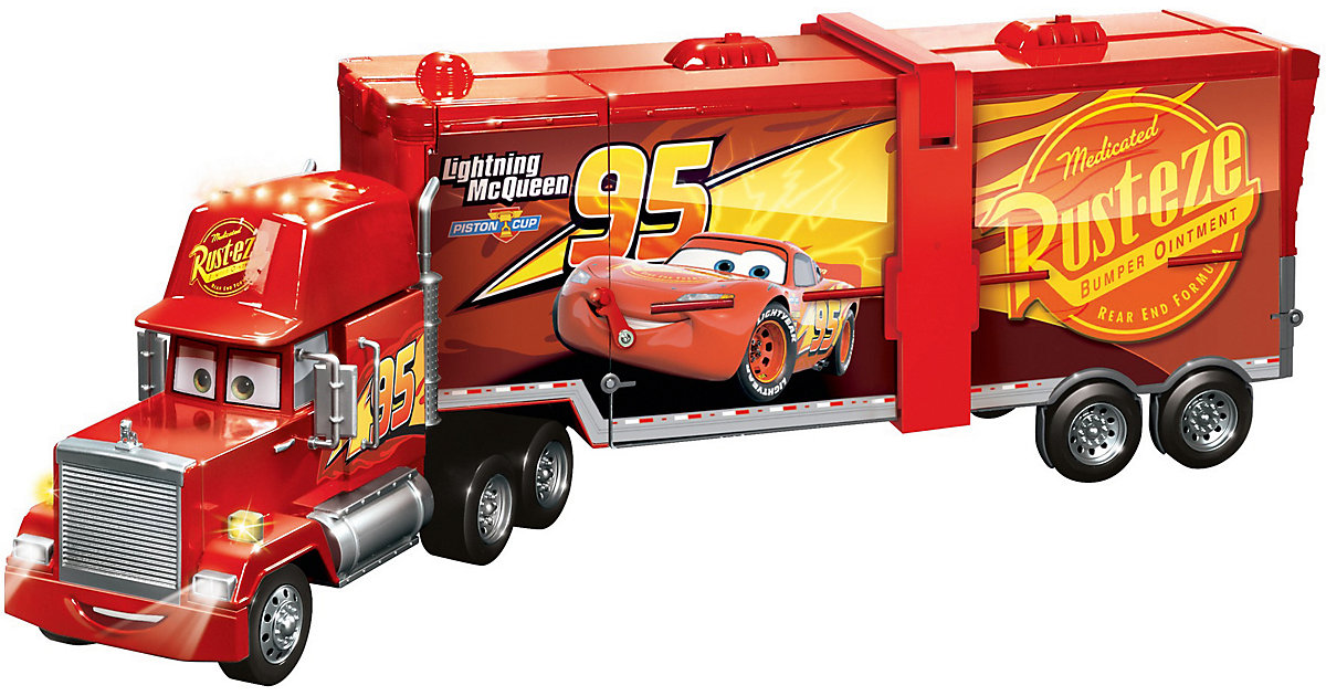 Mattel · Disney Cars Macks Mega-Rennwelt