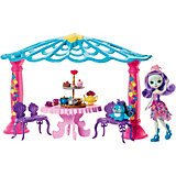 Набор с куклой Enchantimals Чаепитие Пэттер Павлины и Флэпа