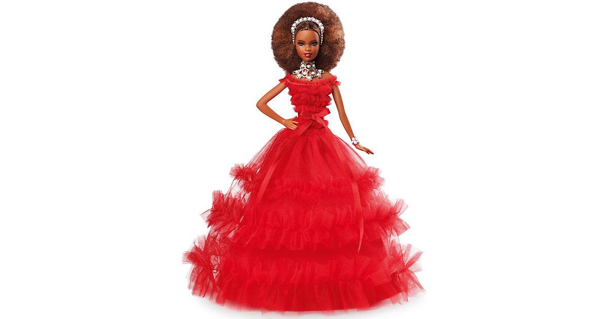Mattel · Barbie Signature Holiday Barbie Puppe (brünett mit Afro-Style)