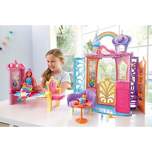 Barbie® Переносной радужный дворец от Mattel