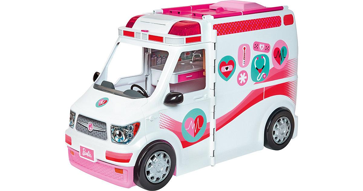 Mattel · Barbie 2-in-1 Krankenwagen Spielset (mit Licht & Geräuschen)