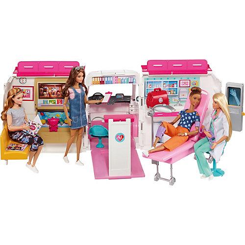 Машина для куклы Barbie Скорая помощь от Mattel